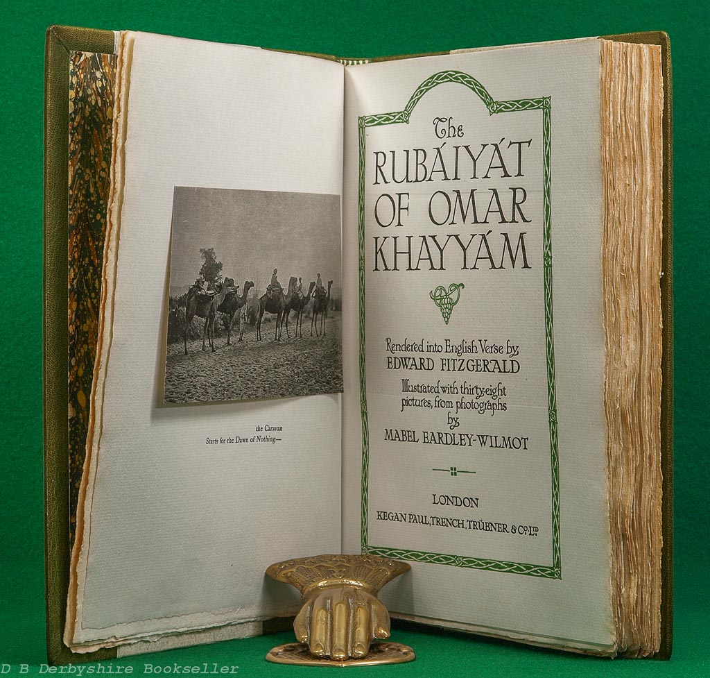Rubaiyat of Omar Khayyam | Kegan Paul, Trench, Trubner & Co. Ltd, 1912 | illustrated by Mabel Eardley-Wilmot
