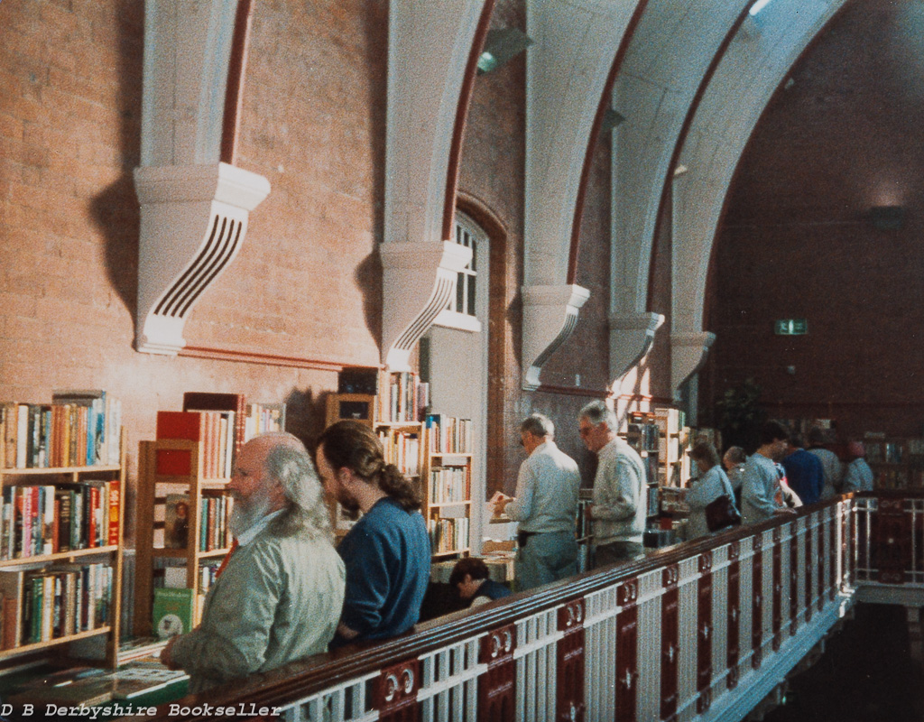 Saltaire Book Fair circa 1996/97 at Shipley College | Photograph taken by W. F. (Bill) Astbury, organiser Yorkshire Book Fairs