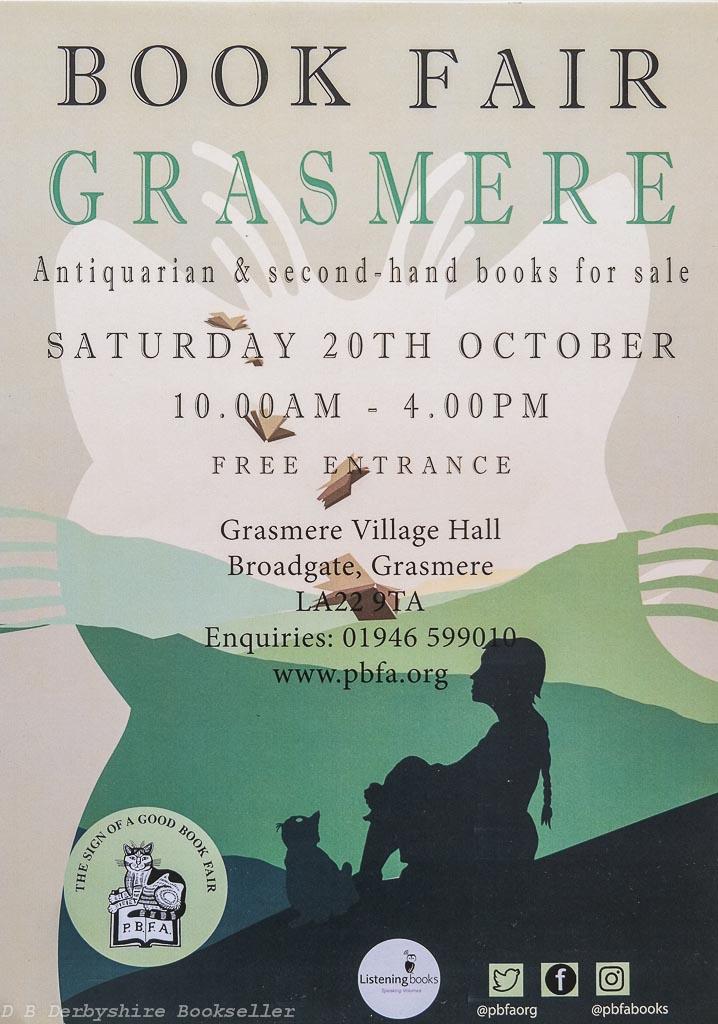 Grasmere Book Fair | 20 October 2018 | Poster