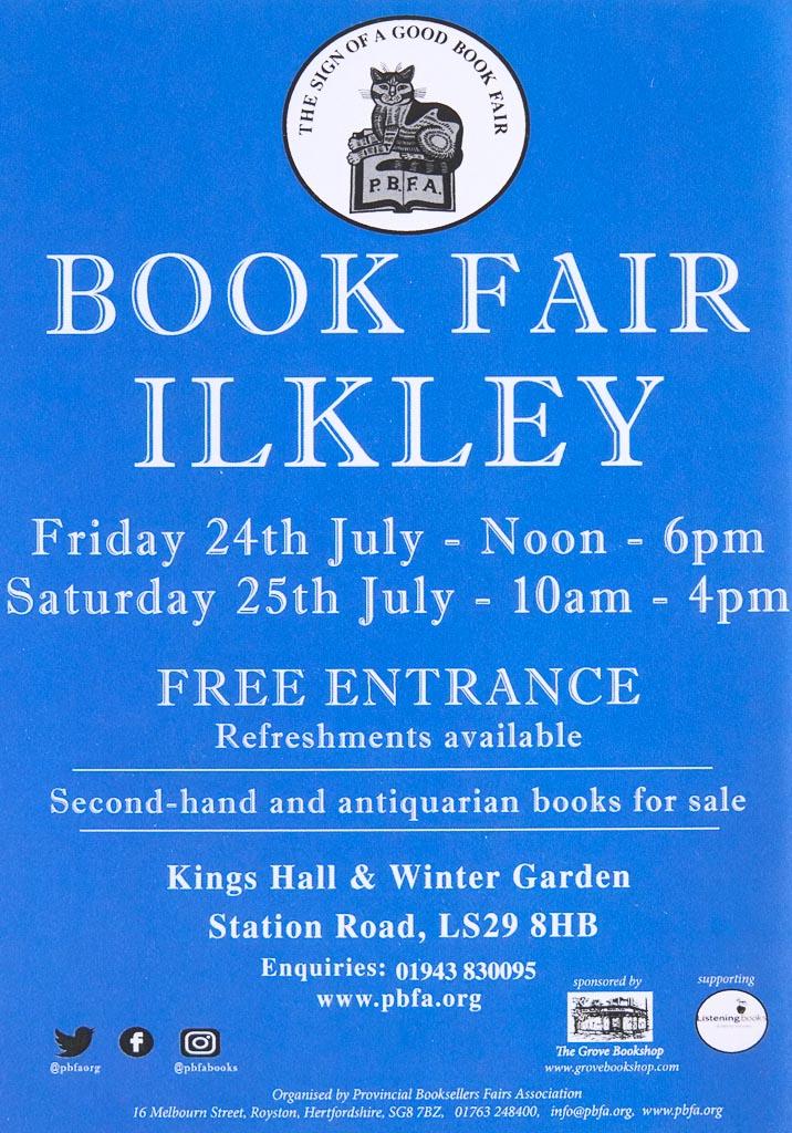 PBFA Ilkley Book Fair 2020