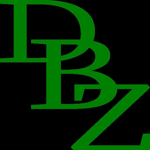D. B. Derbyshire Bookseller | DBZ Logo