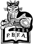 Provincial Booksellers Fairs Association | Cat Design by Edward Bawden